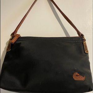 Dooney & Bourke  small Black nylon/  hobo bag
